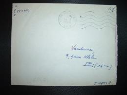 LETTRE TP OBL.MEC.14-8 1960 POSTE AUX ARMEES AFN + SP 88 775 AFN - Poststempel (Briefe)