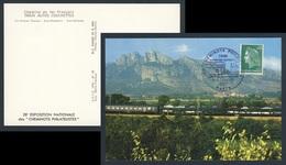 France Rep. Française 1971 Postcard / Carte Postale - Train Autos-couchettes SNCF / Autoreisezug / Car-Sleeper - Treinen