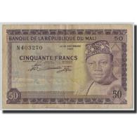 Billet, Mali, 50 Francs, 1960, 1960-09-22, KM:6a, TB - Mali
