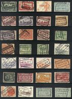 Y34 - Belgium - Railway Parcel Stamps - Used Lot - Ohne Zuordnung