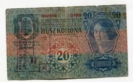 Serbie Serbia Ovp Austria Hungary Overprint  20 Kronen / Korona 1913 # 3 - Serbie