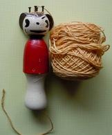 Rare TRICOTIN Style MICKEY Ancien - Toy Memorabilia