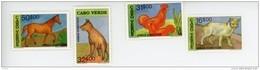 Cap Vert-Cabo Verde-1992-Chat, Cheval,coq,chien-619/22***MNH - Cape Verde