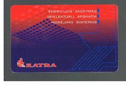 LITUANIA (LITHUANIA) -  1999  KATRA  - USED - RIF. 10731 - Lituania