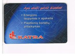 LITUANIA (LITHUANIA) -  1999  KATRA  - USED - RIF. 10732 - Lithuania
