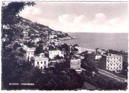 Alassio. Panorama In Bianco E Nero. VG. - Altre Città