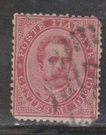 ITALY Scott # 46 Used - 1861-78 Vittorio Emanuele II