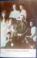 RUSSIE RUSSIA TSAR NICOLAS 2 FAMILLE IMPERIALE DE RUSSIE AU COMPLET - Russia