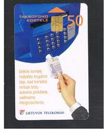 LITUANIA (LITHUANIA) -  2000  PHONE AND PHONECARD    - USED - RIF. 10740 - Lituania