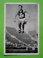 Image 120 X 80 - JEUX OLYMPIQUES 1932 - TRIPLE-SAUT - CHUHEI NAMBU Médaille D'or    - Voir Détails Au Verso - Deportes