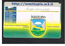 LITUANIA (LITHUANIA) -  2002 SVENTUPIS BLAZON    - USED - RIF. 10743 - Lithuania