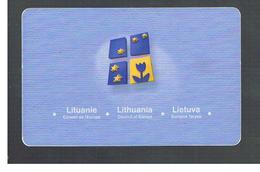 LITUANIA (LITHUANIA) -  2002 COUNCIL OF EUROPE    - USED - RIF. 10743 - Lithuania