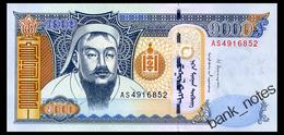 MONGOLIA 1000 TUGRIK 2013 Pick 67d Unc - Mongolia