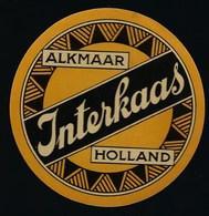 1 Etiquette Fromage -  Hollande A Voir !  Interkaas Alkmaar - Fromage