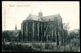 CP   Aubel  --  1903  --  Eglise De Val-Dieu - Aubel