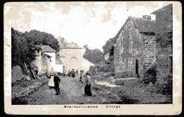CP   Bra Sur Lienne  --   Village  --  1911 - Lierneux
