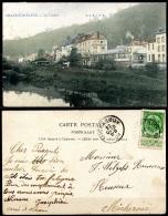 CP   Chaudfontaine   --   La Vesdre  --  Restaurant Café La Rotonde  --  1909  --  Colorisé - Chaudfontaine