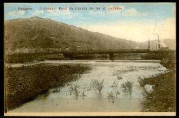 CP   Poulseur  --  Ourthe  --  Pont Du Chemin De Fer Et Carrièrezs  --  Colorisé - Comblain-au-Pont
