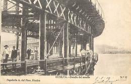 PIE-R-18-1719 : HUELVA. DETALLE DEL MUELLE - Huelva