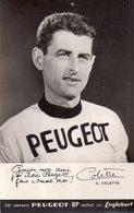 """CP """"PEUGEOT-BP"""" Du Coureur Cycliste C.COLETTE. - Cyclisme"""