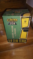 Rare Emballage D'époque Cafetière Pression Moka SEB - SEB SEBO SEBON - Autres