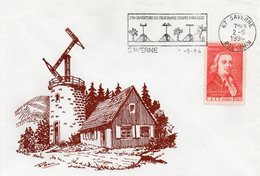 SAVERNE  - Télégraphe CHAPPE Du HAUT-BARR -  Avec Timbre CHAPPE 1949 Dessin De P. BRUCKMANN - 2.5.1994 -voir Scan - France