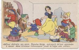 BLANCHE NEIGE N° 16  DISNEY - Disneyland