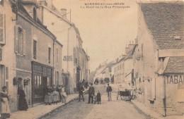 21 - COTE D' OR / Mirebeau Sur Bèze - 215777 - Le Haut De La Rue -  Beau Cliché Animé - Mirebeau