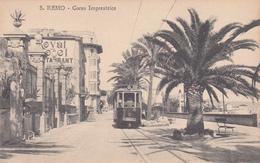 San Remo (Imperia)_Corso Imperatrice_Tram_Royal Hotel -Viaggiata _Originale 100%- - San Remo