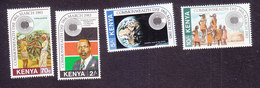Kenya, Scott #243-246, Mint Hinged, Commonwealth Day, Issued 1983 - Kenia (1963-...)