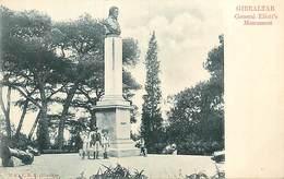 PIE-R-18-1739 : GIBRALTAR. MONUMENT GENERAL ELIOTT - Gibraltar