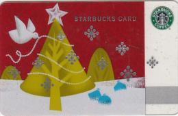 GREECE - Christmas, Starbucks Card, CN : 6063, Unused - Gift Cards