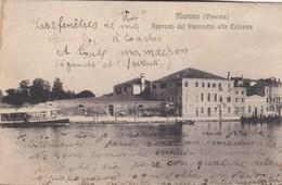 Murano-approdo Del Vaporetto Alla Colonna - Venetië (Venice)