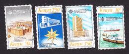 Kenya, Scott #262-265, Mint Hinged, 30th Anniversary Of Customs Coop Council, Issued 1983 - Kenya (1963-...)