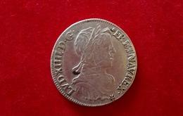 LOUIS XIV 1/2 ECU A LA MECHE LONGUE - 987-1789 Monnaies Royales