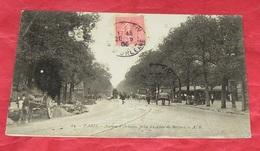 75 - Paris - Avenue D'Oléans , Prise Du Lion De Belfort   :: Animation Travaux - Attelages -------- 459 - Arrondissement: 14