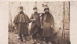 TRES BELLE CARTE PHOTO SOLDATS DEPART LAGNY 1915 - Lagny Sur Marne