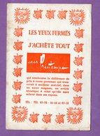 Buvard Au Printemps J Achete Tout Les Yeux Fermes - Blotters