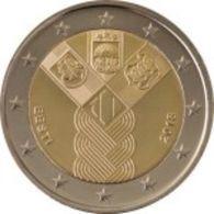 Estonia    2euro Cc - Centenario De La Fundación De Los Estados Bálticos Independientes  -  2018  UNC - Estonia