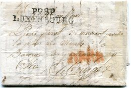 Luxembourg - Lettre Préphilatélie 1805 - P98P - Luxembourg