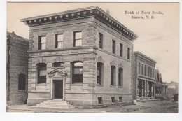 SUSSEX, New Brunswick, Canada, Bank Of Nova Scotia, Pre-1920 Suffren  Postcard - Nouveau-Brunswick