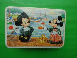 RARE BOITE De Gâteaux EN METAL MICKEY - WALT DISNEY - Boxes