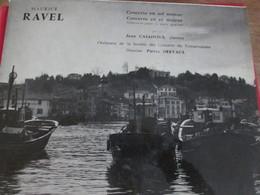 Le Port De CIBOURE Pochette Disque De Maurice Ravel - Humour, Cabaret