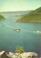 Boka Kotorska, Bocche Di Cattaro (Montenegro, Ex Jugoslavia) Panorama Isole Di San Giorgio E Madonna Dello Scalpello - Montenegro