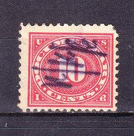 USA, Gebuehrenmarke, 10 Cent (49721) - Gebührenstempel, Impoststempel
