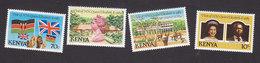 Kenya, Scott #277-280, Mint Hinged, Royal Visit, Issued 1983 - Kenya (1963-...)