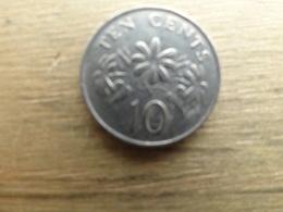 Singapour  10  Cents  1991  Km 51 - Singapur
