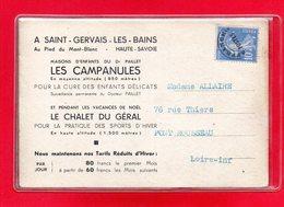 74-CPA SAINT GERVAIS LES BAINS - MAISONS D'ENFANTS DU Dr PAILLET - LES CAMPANULES - Saint-Gervais-les-Bains