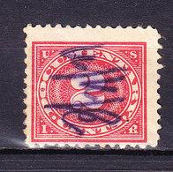 USA, Gebuehrenmarke, 2 Cent (49724) - Gebührenstempel, Impoststempel