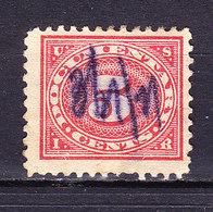 USA, Gebuehrenmarke, 5 Cent (49725) - Gebührenstempel, Impoststempel